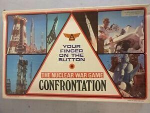 CONFRONTATION NUCLEAR WAR - magnifique jeu vintage années 60 ARIEL éditeur en VF