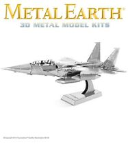 Fascinations Metal Earth F-15 Eagle Fighter Jet Plane Laser Cut 3D Model