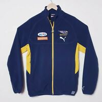 West Coast Eagles Puma Official AFL Jacket Zip Up Windbreaker Mens Large