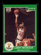 1985 Star Company LARRY MICHEAUX card # 10, RARE UNRELEASED  [card 3]