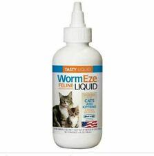 Durvet WormEze 4oz. Feline Anthelmintic Liquid