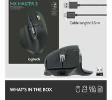 BRAND NEW, BOXED Logitech MX Master 3 Advanced Wireless Mouse  (910-005695)