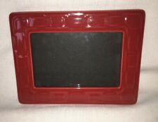 New ListingLongaberger Tomato Pottery Picture Frame ~ Brand New in Box - Rare