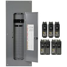 Square-D 200-Amp 40-Space 80-Circuit Indoor Main-Breaker Panel Box Load-Center