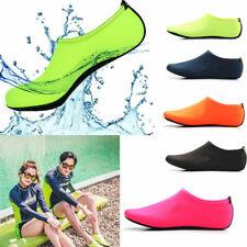 Calzado deportivo de piel de Agua Unisex Descalzo AQUA Playa Calcetines Swim Resbalón En Surf Yoga