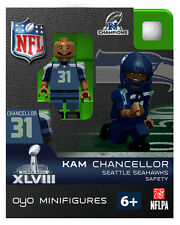 KAM CHANCELLOR NFL SUPERBOWL XLVII NFC CHAMPS SEATTLE SEAHAWKS Oyo NEW