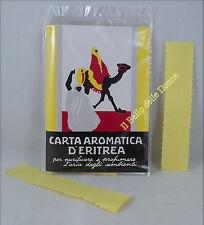 CARTA Aromatica d'ERITREA profumo ambienti 24 listelli