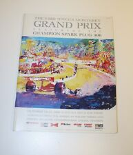 Vintage Formula 1 Racing Official 1990 Grand Prix Laguna Seca Race Program Rare