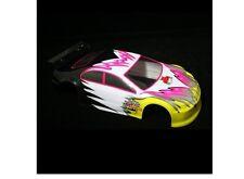 Redcat Racing 1/10 Scale Car Body Pink & Yellow Redcat Racing Lightning 01012
