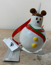 Disney Mickey Mouse Snowman Treat Ornament