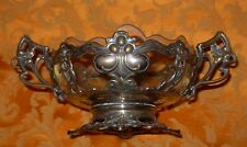 WMF Schale WMFM Jugendstil Art Nouveau metal Liberty basket with glass