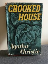 Crooked House Agatha Christie The Crime Club 1949 1st Ed Hardcover Dust Jacket