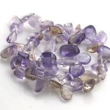 "8-15mm Natural Ametrine Freeform faceted Gemstone loose Beads jewelry DIY 15.5"""
