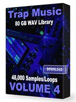 48,000+ Trap WAV Samples Loops Volume 4, Ableton Logic Pro Tools FL Studio Acid