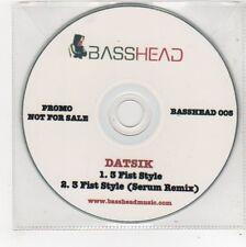 (FE767) Datsik, 3 Fist Style - DJ CD