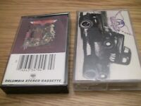 2 Aerosmith- Toys In The Attic and Pump Cassette Tape lot