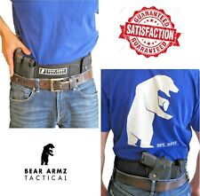 Belly Band Holster for Concealed Carry by Bear Armz Tactical| S&W Glock Sig