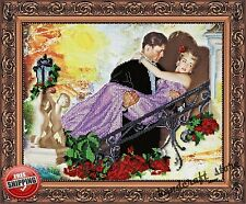 "Bead Embroidery Kit ""White nights"" New Diy Needlepoint Beading Beadwork Decor"