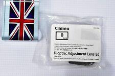 CANON Dioptric Adjustment  Lens Ed -/+0 FOR EOS 3 A2 A2E & ELAN 7 7E 7N II IIE