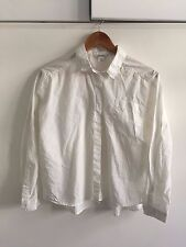 Monki Boxy White Button Up Shirt (COS, weekday, summer style)