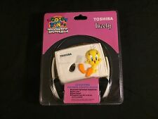 NEW 1995 TWEETY LOONEY TUNES TRONICS TOSHIBA PERSONAL CASSETTE PLAYER BASS BOOST