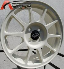 Rota R-SPEC 16X7 +45 White 4X100 Rims Fit Vw Cabriolet Jetta Golf Cabrio Mirage