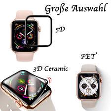5D Panzerfolie Apple Watch Series 1-6 SE Glasfolie Schutzfolie PET Displayschutz
