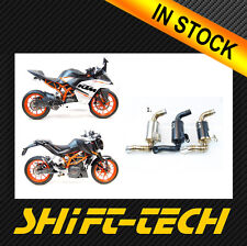 ST1726 GP Slip On Exhaust Competition Werkes WKT390 for 15'+ KTM RC390 TYPE 1