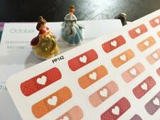 PP142 -- Band-aid Icons Life Planner Stickers for Erin Condren (54pcs)