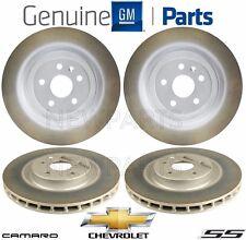 NEW 2 Front & Rear Brake Disc Rotors Kit Genuine For Chevrolet Camaro SS V8