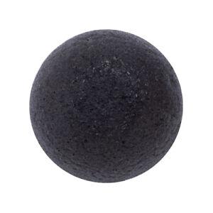 [EONNII] Natural Konjac Soft Cleansing Puff - 1pcs #Charcoal