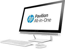 """HP 24-b257na 24"""" PC Intel Core i5-7400T 8GB 1TB GeForce 930MX DVD WiFi Win 10"""