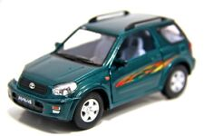"New 5"" Kinsmart Toyota Rav4 Diecast Model Toy SUV 1:32 Green"