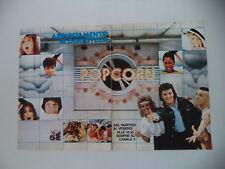 advertising Pubblicità 1982 POPCORN - CANALE 5