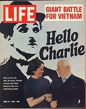 Life Magazine April 21 1972 Birthday Charlie Chaplin VG 050316DBE2
