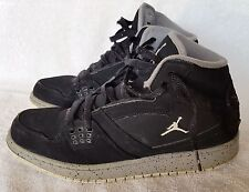 d5b823bd99877f NIKE AIR JORDAN FLIGHT Boys Black Basketball Shoes 374452-015 Youth Size 7 Y