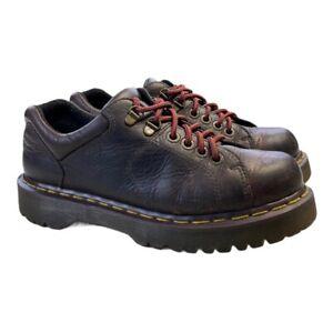 Dr. Martens Mens Oxfords Shoes Brown Leather 8312 Lace Up 7M