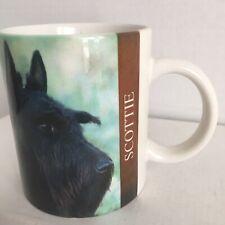 Scottie Dog Coffee Mug Scottish Terrier 1994 Barbara Augella Xpress Breed Photo
