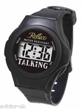 Talking Watch LCD Digital Watch for the Blind Dyslexic BOXED New Reflex