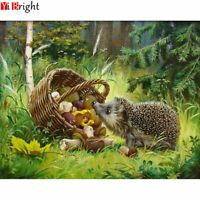 DIY Diamond Embroidery Forest Hedgehog BK Decoration Mosaic Drill square Stitch