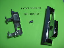 LYON LOCKER HANDLE ASSEMBLY RH RIGHT MADE IN USA NEW CASE LIFT & SCREW 1981 +