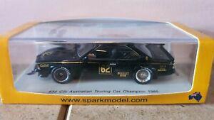Spark 1:43 BMW 635csi 1985 Australian Touring Car Championship #62 Richards
