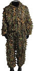Hunting Ghillie Suit for Men 3D Leaves Hooded Clothing Camouflage Deer Hunting