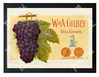 Historic W & A Gilbey wine growers, Chateau Loudenne, France Ad Postcard