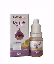 Patanjali Drishti Eye Drops 2 Packs x 10ml Eye Care Herbal Ayurveda Free Ship
