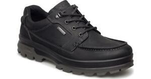 ECCO Men's Track II 25 GTX Black  Low Work Hike Boots Men's Size 40 / US 7.5-8