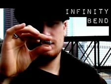 Infinity Bend by Eric Ross (Dvd) Visually bend a coin in front of their faces
