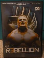 WWE - Rebellion (DVD, 2002) *RARE* Like New