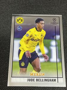 2020/2021 Topps Merlin UEFA Soccer RC Jude Bellingham #31, Borussia Dortmund