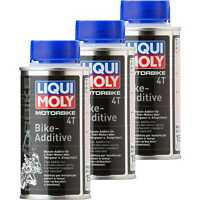 3x Liqui Moly 125ml Motorbike 4T Bike-Additive Benzin-Additiv für 4-Takt